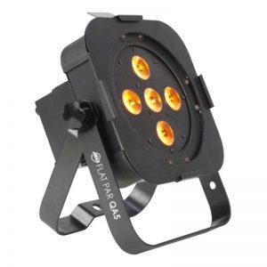 ADJ QA5 5x5w flat par LED