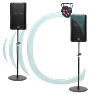 QSC K12 with light DJ hire