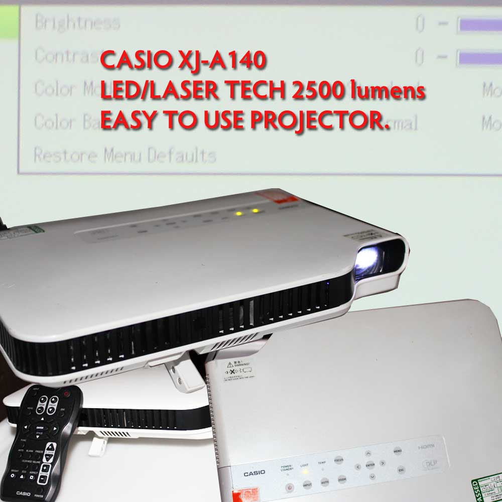 CASIO LED/LASER PROJECTOR